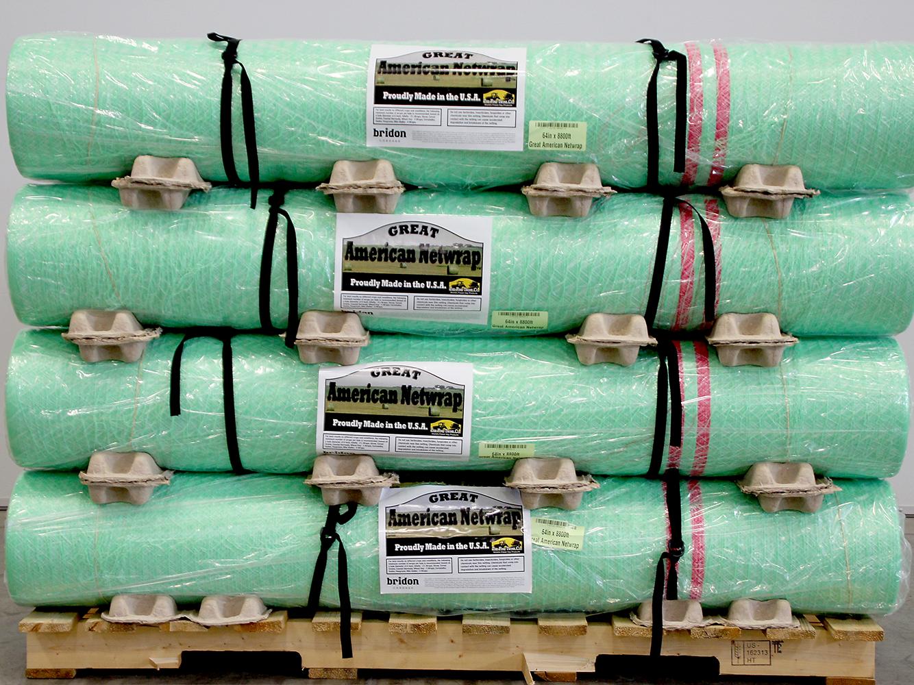 Net Wrap Improves baling efficiency | Great American Net